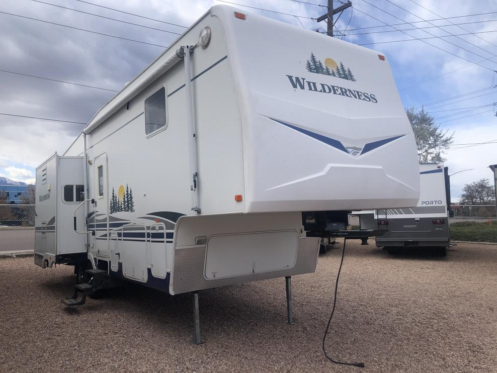 2007 FLEETWOOD  WILDERNESS 295TS full