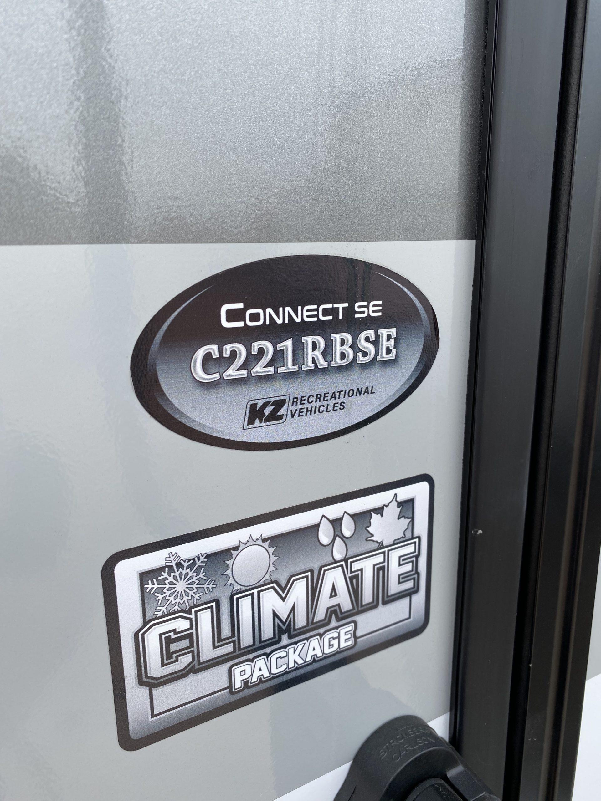 2021 KZ CONNECT C221RBSE full