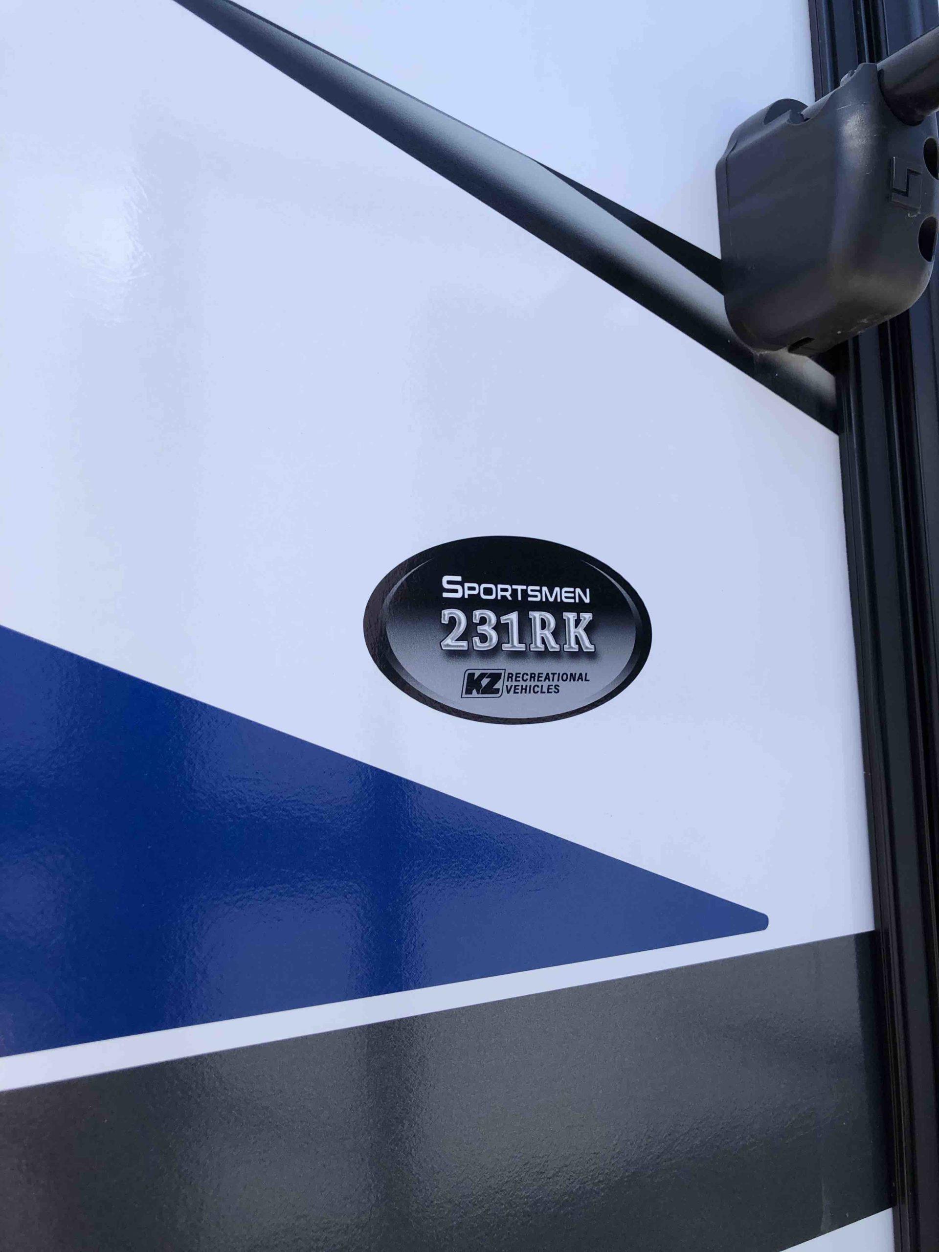 2021 KZ SPORTSMEN FW 231RK full