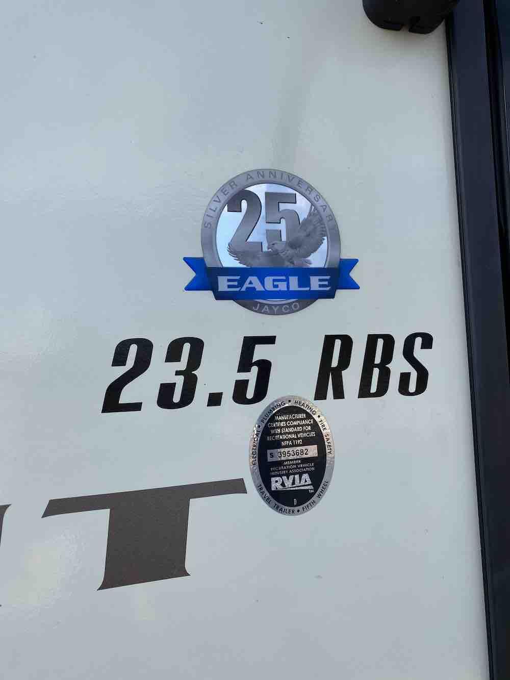 2016 JAYCO EAGLE 23.5 RBS full