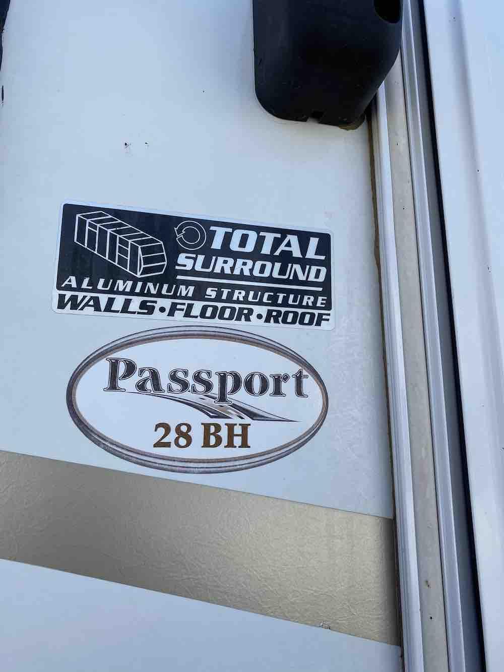 2014 KEYSTONE PASSPORT  ULTRA LITE ELITE 28BH full